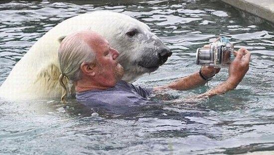 愛を感じる動物画像トピ