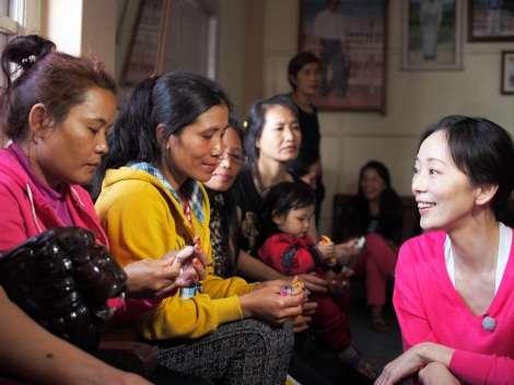 葉月里緒奈が10年ぶりバラエティー  インド秘境で「一夫多妻」大家族に密着