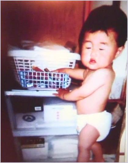 横澤夏子の幼少期から「全然変わらない」顔&