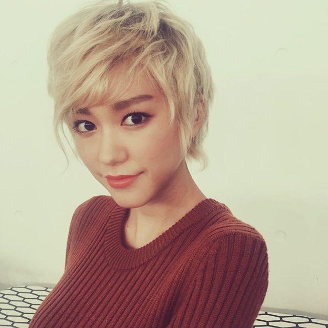 ショートヘアの桐谷美玲