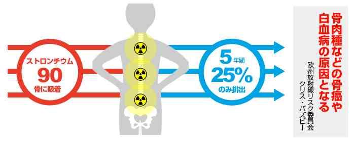 アメリカ政府が発表したストロンチウムの汚染地図がヤバイ!神奈川県を含めて関東各地で放射性ストロンチウムを検出!|情報速報ドットコム