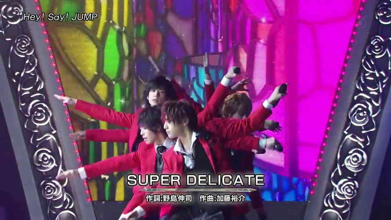 Hey! Say! Jump SUPER DELICATE - YouTube