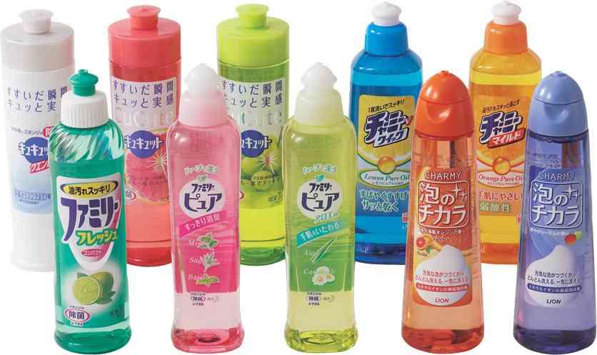 家庭の洗剤は何を使っていますか?