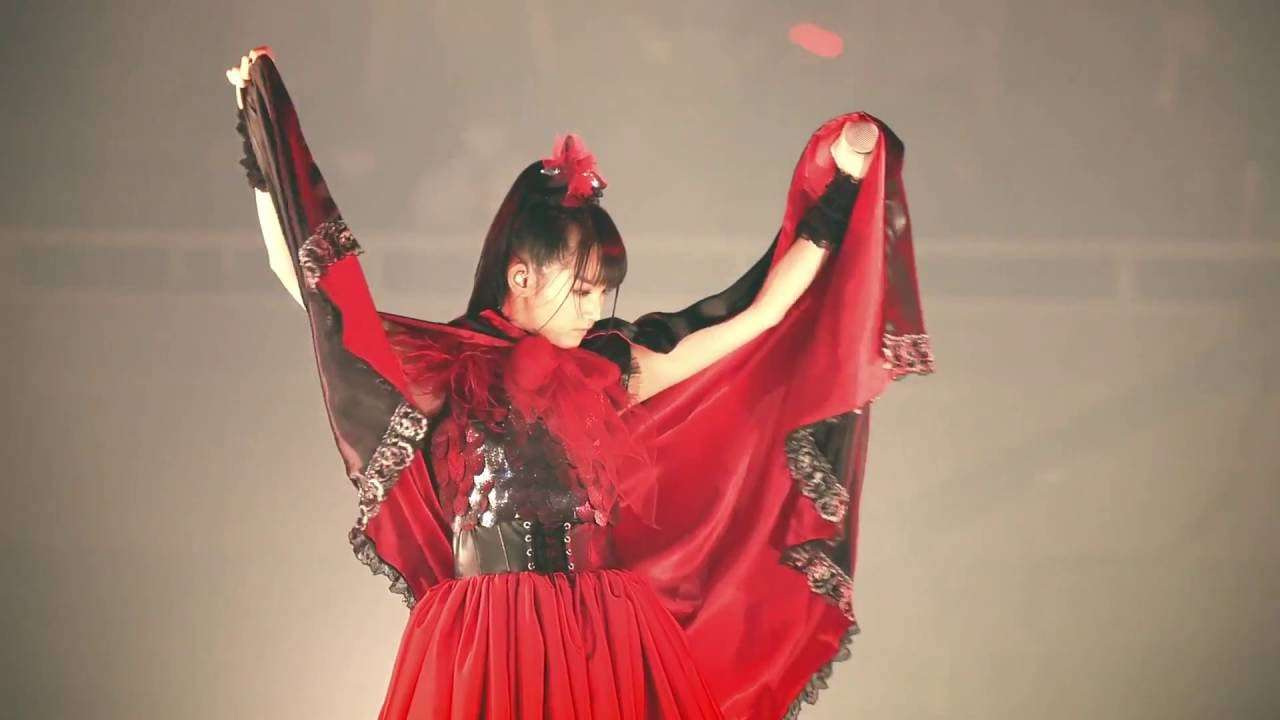 BABYMETAL - AKATSUKI「紅月アカツキ」BLACK NIGHT HD1080p - YouTube