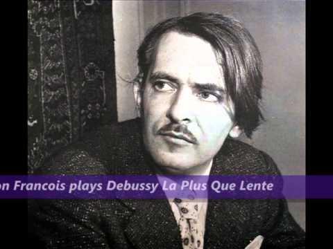 Samson Francois plays Debussy La Plus Que Lente - YouTube