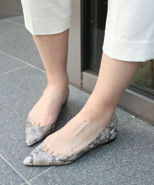 ポインテッドトゥの靴!