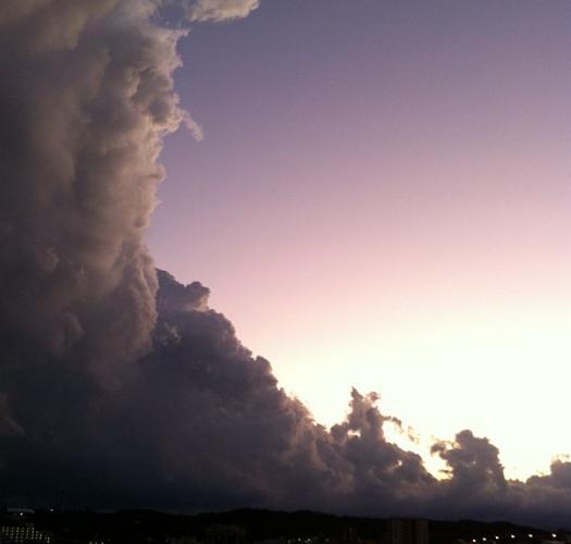 珍しい雲の画像が見たい