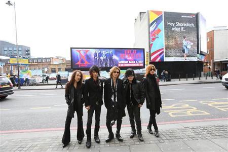 ウェンブリーにX JAPAN!アジア人初の欧米ロック殿堂制覇