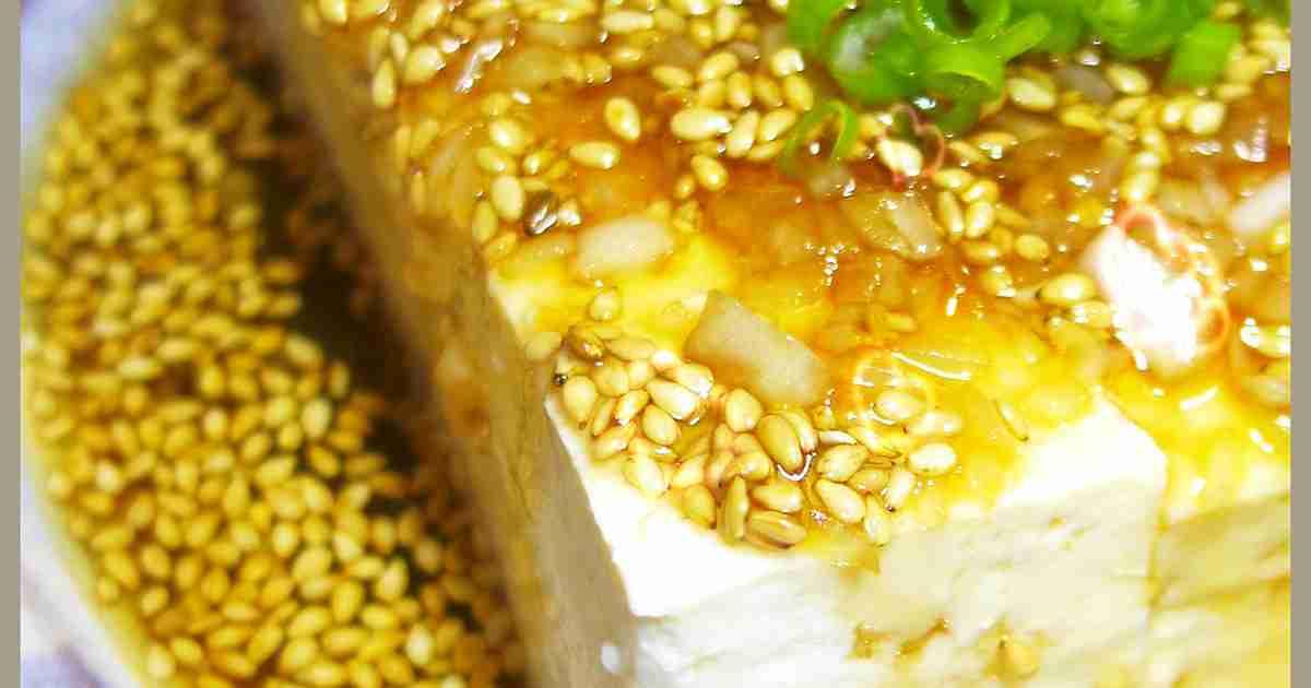冷奴や湯豆腐に!めんつゆとごま油絶品だれ by しるびー1978 [クックパッド] 簡単おいしいみんなのレシピが262万品