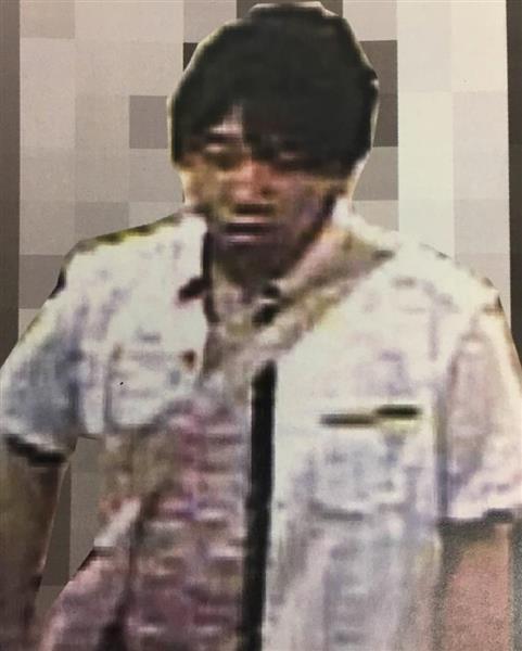 【動画付き】女子高生を襲い、はいている下着奪って逃走 男の画像公開 東京・足立区 - 産経ニュース