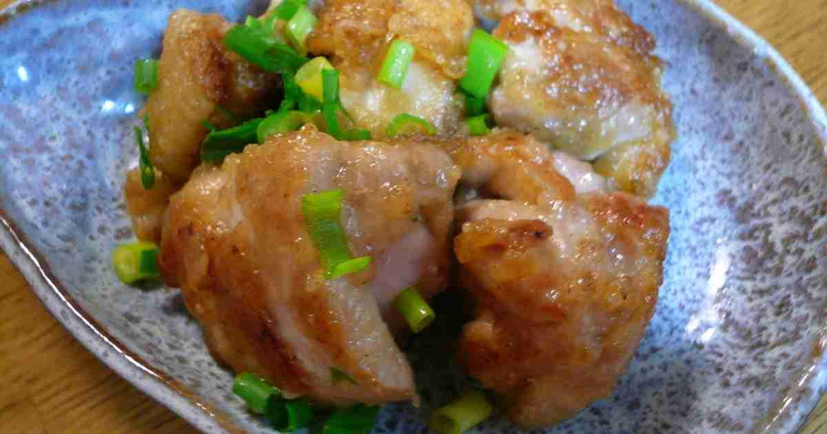 食べ過ぎ注意☆鶏肉のねぎマヨポン炒め by おぶうさま [クックパッド] 簡単おいしいみんなのレシピが263万品