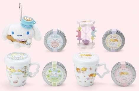 キキララとシナモンがお茶専門店「ルピシア」と初コラボ 最新トレンドニュース JOSHI+