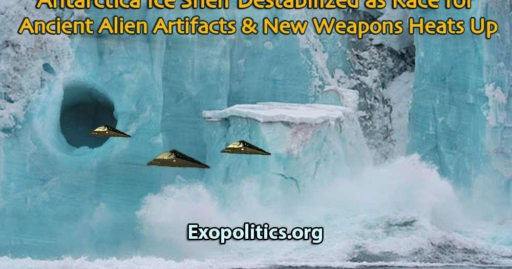 発掘競争で南極の氷棚が不安定化          ~           PFC-JAPAN OFFICIAL