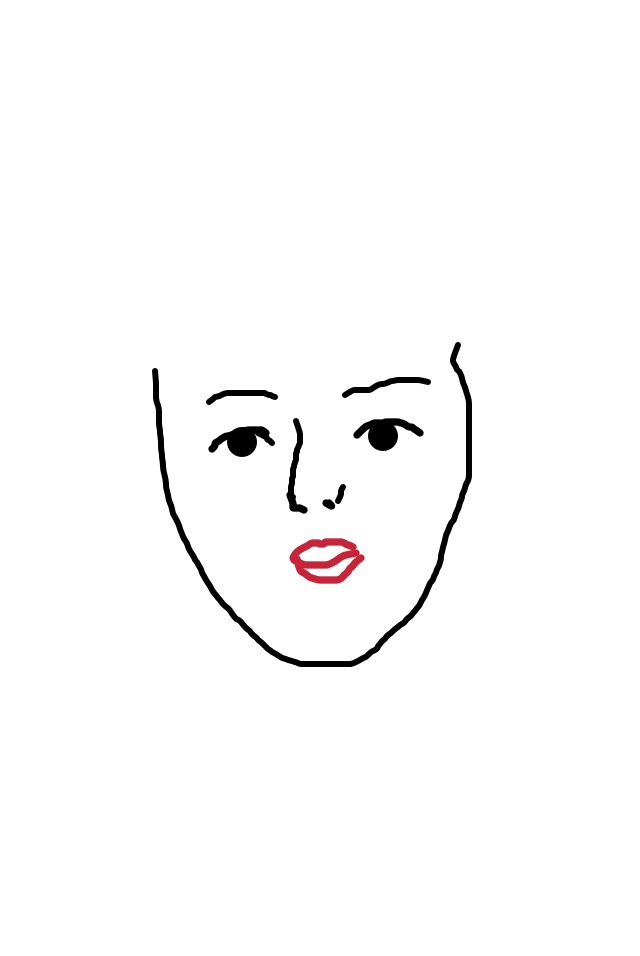 和風顔のメイク