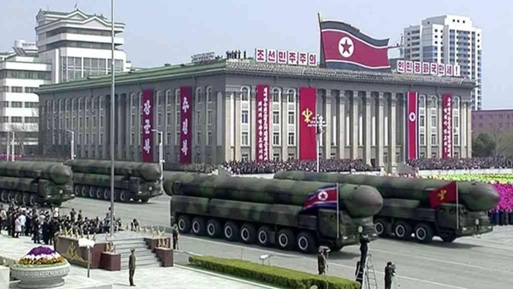 US said preparing strike to 'utterly destroy' N. Korean nuclear program | The Times of Israel