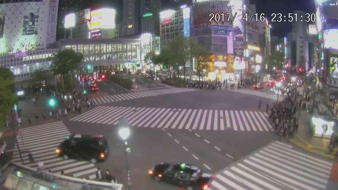 【LIVE CAMERA】渋谷スクランブル交差点 ライブ映像 Shibuya scramble crossing - YouTube