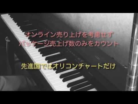 日本のメジャー音楽シーンは2010年に破綻している - YouTube