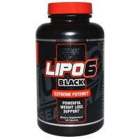 Nutrex Research Labs, Lipo6 Black、究極の効果、減量、120カプセル - iHerb.com