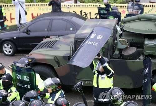 26日未明にTHAADが緊急配備された詳細! 8000人の警察が道路を封鎖 住民との衝突も | ゴゴ通信