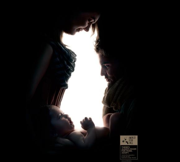 【なんだか分かる?】ある「目の錯覚」広告のアイディアが秀逸 / 気付けばアハ!その後に胸がジーン   ロケットニュース24