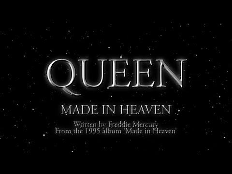 Queen - Made In Heaven - (Official Lyric Video) - YouTube