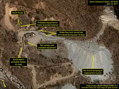 北朝鮮、核実験の「準備完了」と米シンクタンク 15日実施か 写真4枚 国際ニュース:AFPBB News
