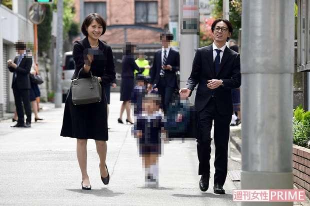 矢部浩之と青木裕子、入園式後のワインバー立ち寄りに他の保護者「寄り道禁止です」