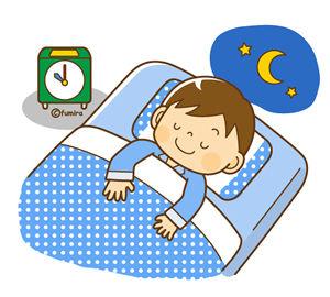 子どもの就寝時間