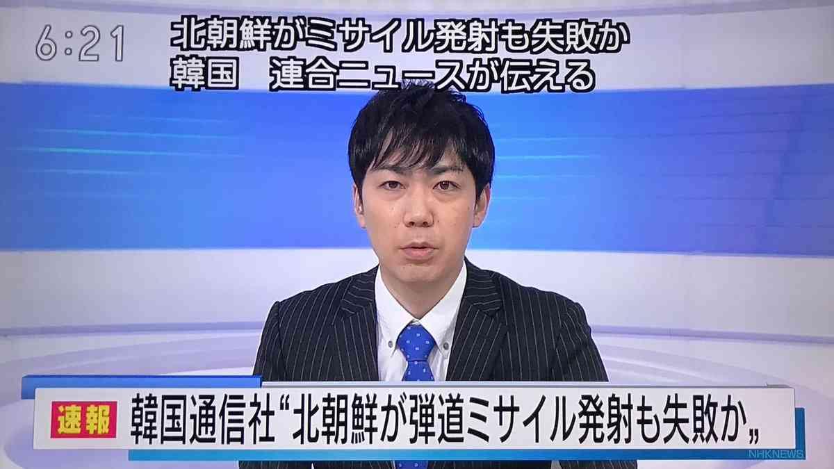 北朝鮮のミサイル発射、失敗か=「数秒で爆発」と韓国メディア