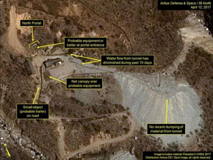 北朝鮮の核実験施設でバレーボール、衛星画像が米専門家驚かす| ロイター