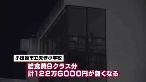 小学校の給食費120万円、集計中に盗まれる(TBS系(JNN)) - Yahoo!ニュース