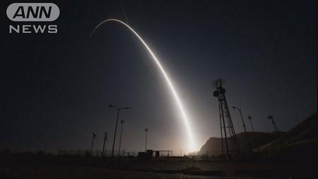 アメリカ空軍がICBMの発射実験 北朝鮮への牽制か(テレビ朝日系(ANN)) - Yahoo!ニュース