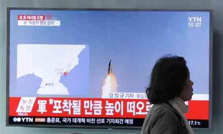 <北朝鮮>ミサイル発射失敗 米副大統領の訪韓を意識か (毎日新聞) - Yahoo!ニュース