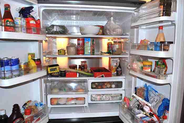 いま冷蔵庫に何が入っていますか?