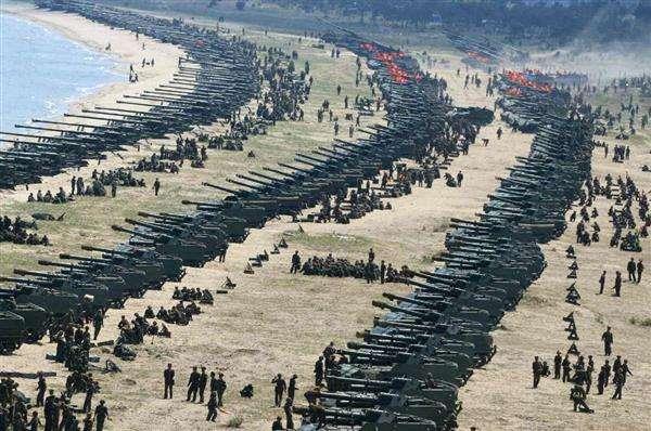 【北朝鮮情勢】北の砲撃演習はショー? 「不自然」「安全でない」…合成写真説も - 産経ニュース