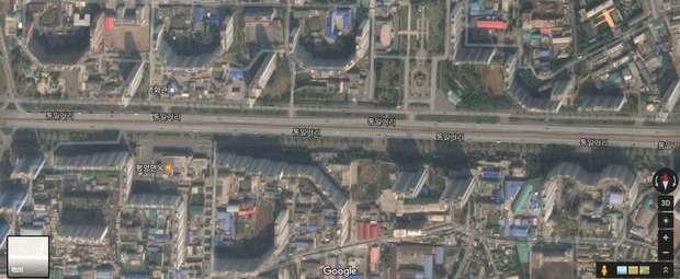 痛いニュース(ノ∀`) : 【悲報】 平壌の高層ビル群がハリボテだとグーグルマップで判明 - ライブドアブログ