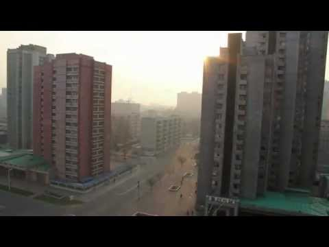 Morning in Pyongyang, North Korea. Very eerie. - YouTube