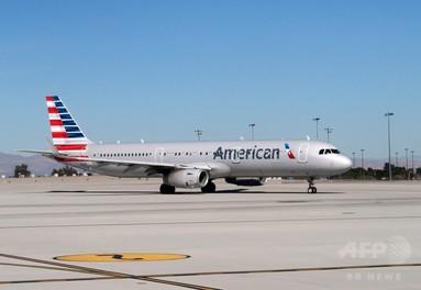アメリカン航空機で子連れ客大泣き、別の乗客と乗務員が大げんか 写真1枚 国際ニュース:AFPBB News