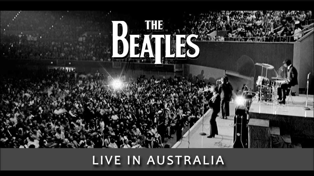 Beatles -- Live -- Australia Concert  [ film w/ great audio! ] - YouTube