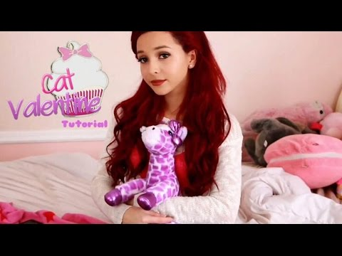 Cat Valentine Makeup, Hair, Costume Tutorial ♡ - YouTube