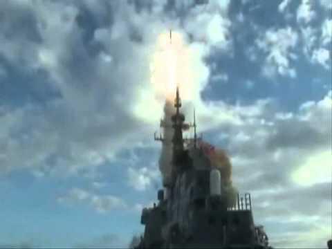 イージス艦「きりしま」・弾道ミサイル迎撃テスト成功! - YouTube