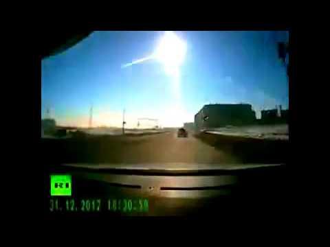 【映像まとめ】ロシア・チェリャビンスク州の隕石落下映像 まとめ - YouTube