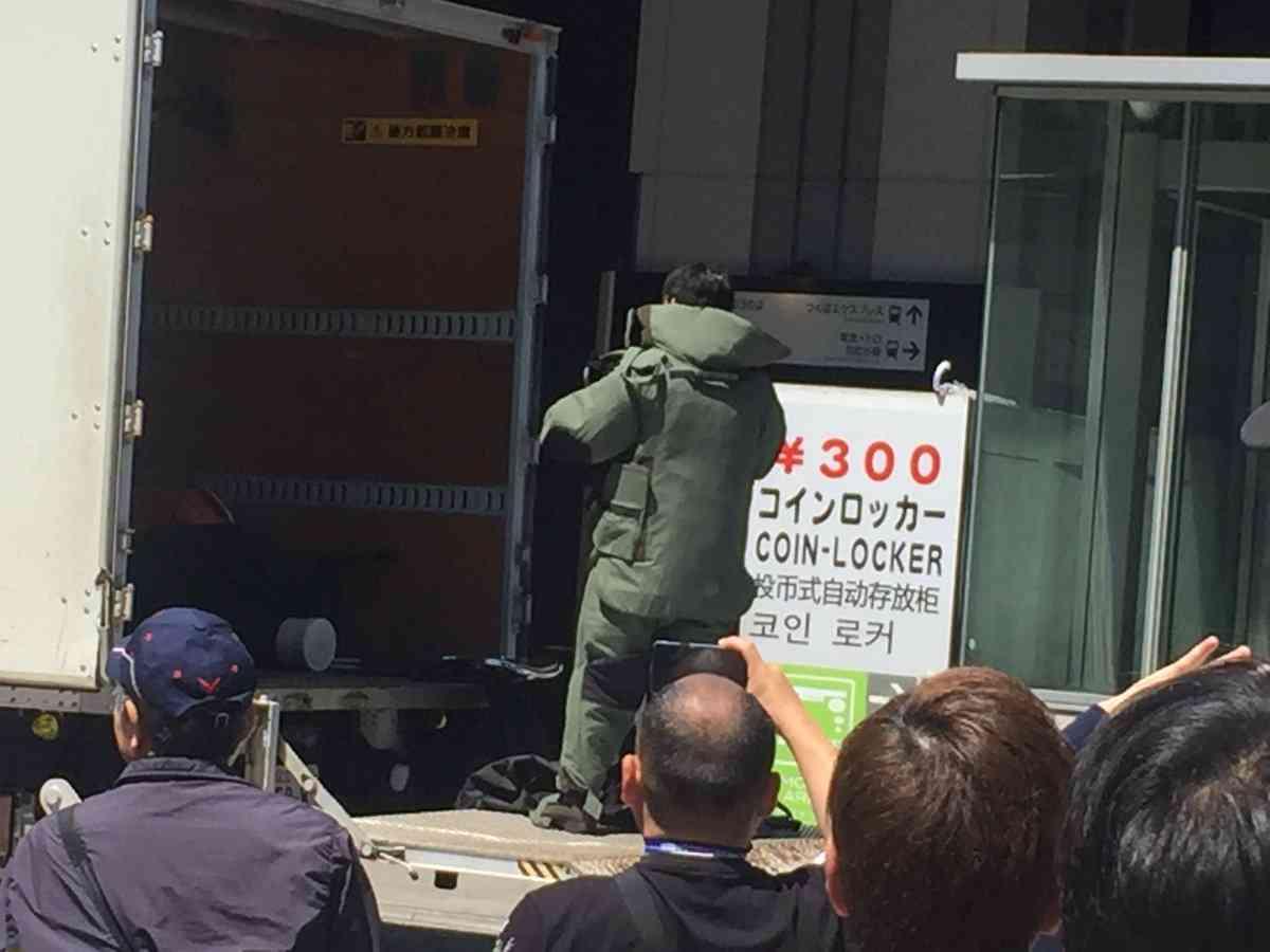 秋葉原駅で爆発物騒ぎ、一時駅閉鎖 芳香剤にリード線と乾電池