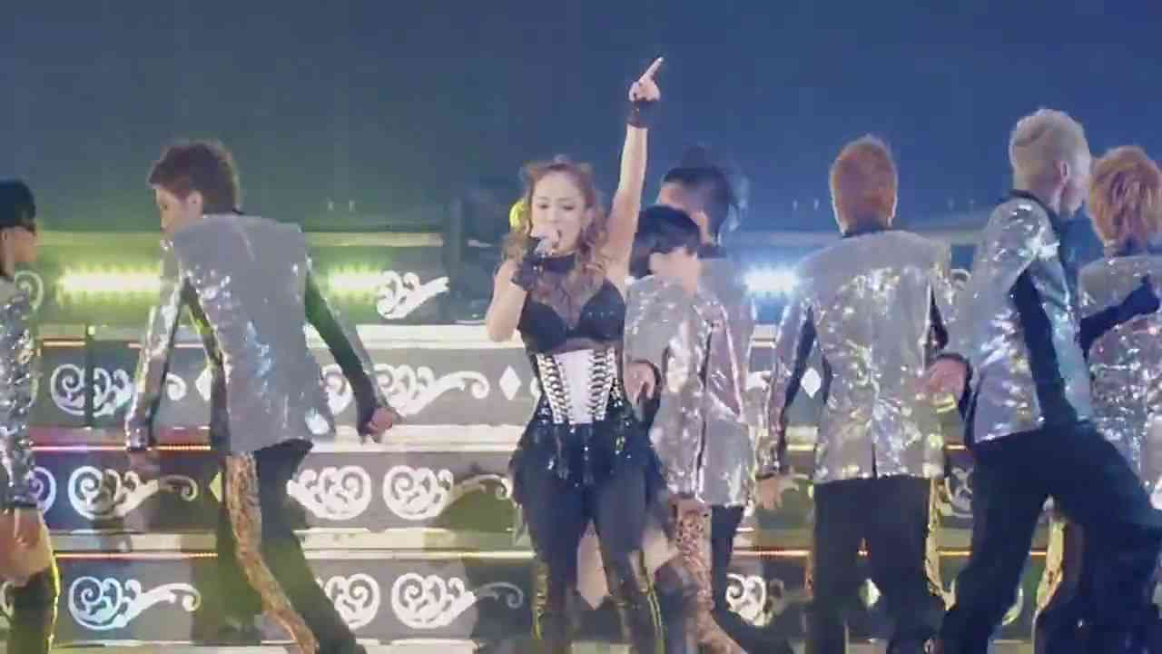 Ayumi Hamasaki - Fly High COUNTDOWN LIVE 2016-2017 A 『Just the beginning -20-』 - YouTube