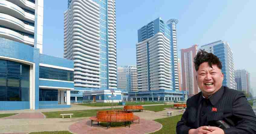 【テレビでは報じられない北朝鮮の真実】平壌の高層ビルが完全にハリボテだと判明!!これじゃ人住めないだろww【証拠画像あり】 | ヒトモチ 衝撃の感動を