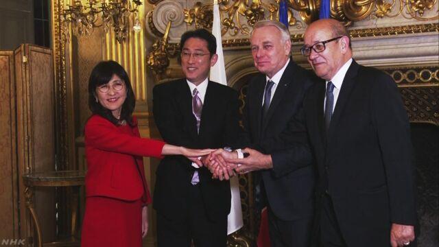 日仏英米の4か国で初の共同訓練実施へ | NHKニュース