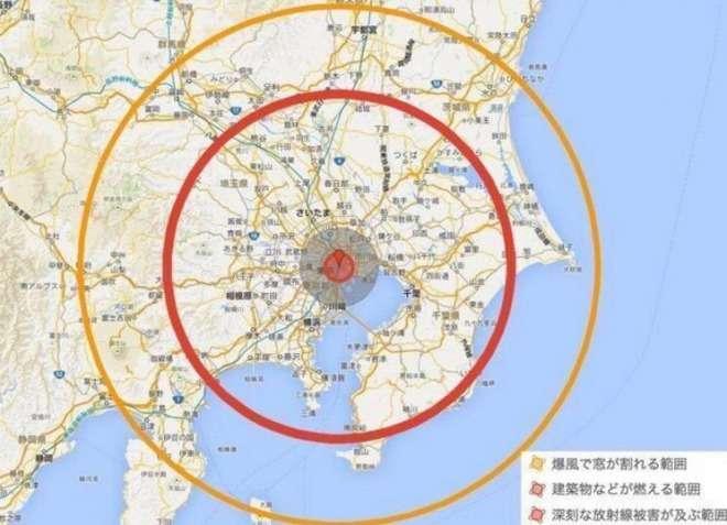 「北朝鮮の核で首都圏が消し飛ぶ」、デマ情報に注意!北朝鮮の核は数十キロ程度が限界!|情報速報ドットコム