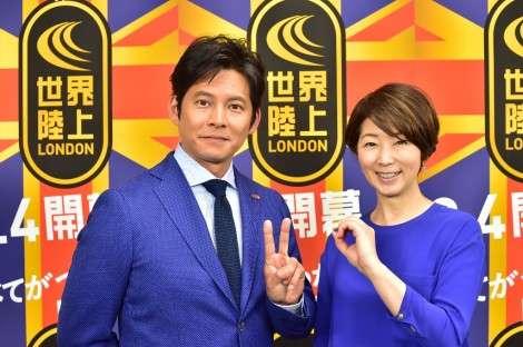 織田裕二『世界陸上』20年目11大会連続メインキャスター就任 | ORICON NEWS