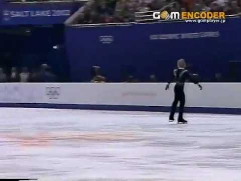 2002 Olympics Evgeni Plushenko LP - Carmen.3A+1Lo+3F Slow Motion - YouTube