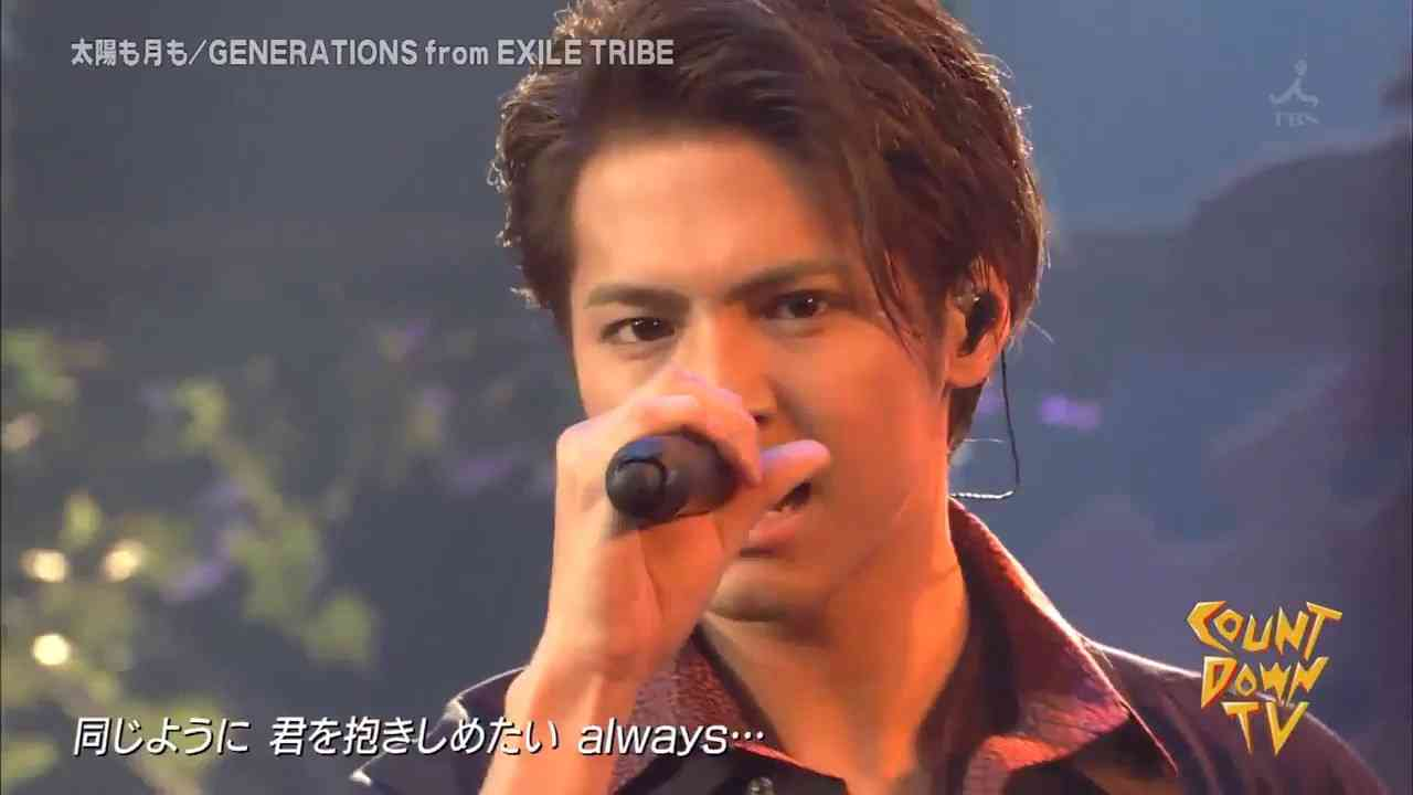 GENERATIONS from EXILE TRIBE CDTV 太陽も月も - YouTube